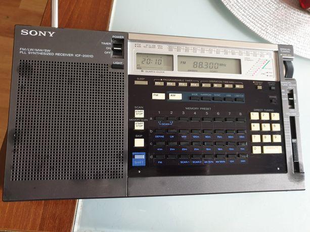 Globalny odbiornik radiowy Sony Icf-2001 d