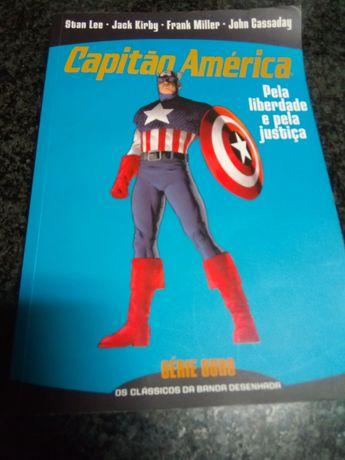 Livro capitão América.