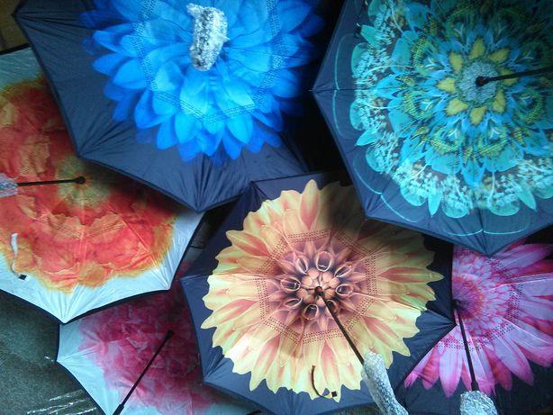 Ветрозащитные зонты UMBRELLA умный зонт НАОБОРОТ обратного Лучшая цена