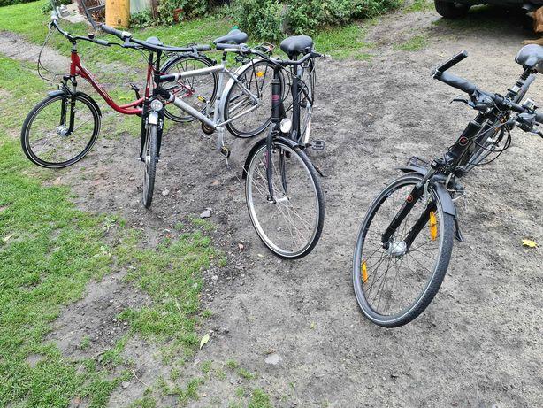 4 rowery Trekkingowe 28 cali koła