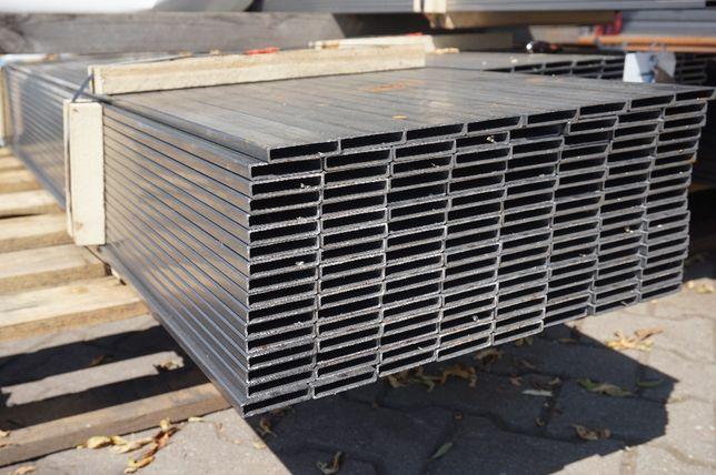 Profil stalowy 50x10x1,5mm kształtownik, ogrodzenia brama, palisada