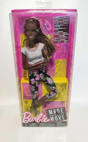 Барби йога цветочные штанишки / Made to Move Barbie