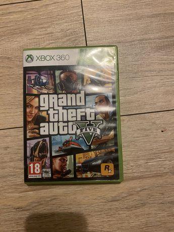 Gra GTA Grand Theft Auto V na Xbox 360