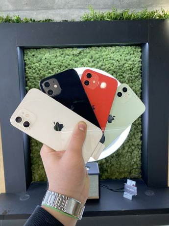 Apple iPhone 12 64/128Gb Red/Green/Balck/White One Apple Кредит
