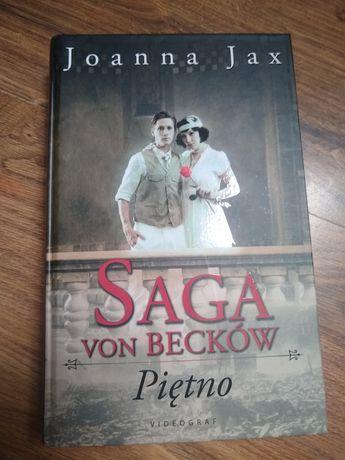 """""""Piętno"""" Joanna Jax książka wojenna fikcja"""