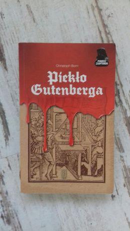 książka Piekło Gutenberga Christoph Born