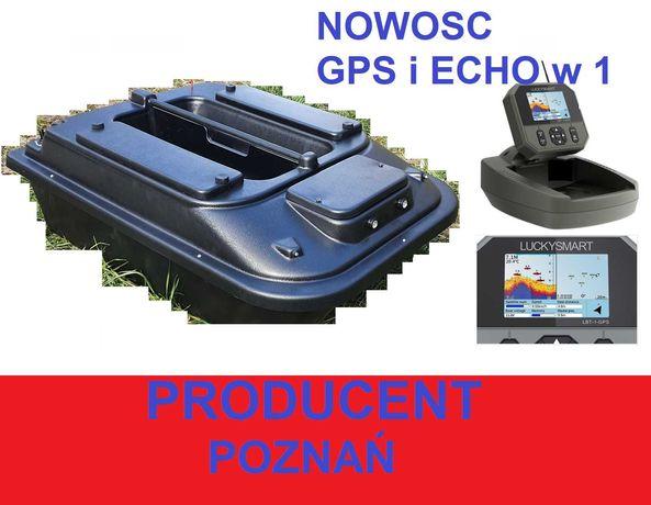 duza 70cm ŁÓDKA ZANĘTOWA P2 Echosonda z GPS LBT-1 +FS-i6