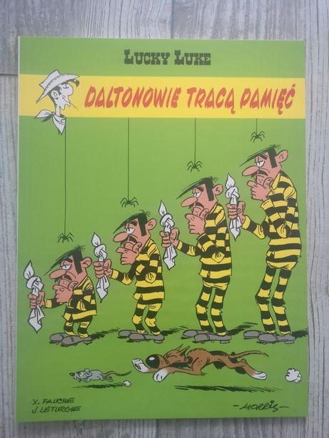 Komiks pt Lucky Luke Daltonowie tracą pamięć tom 60