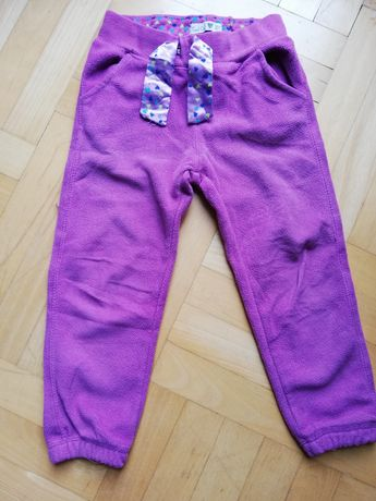 Spodnie dresowe cool club polarkowe rozmiar 104