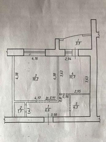 Сдам 1к Кондратьева 45 м 4 этаж автономка