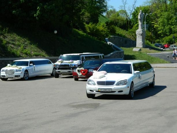 Аренда, Прокат, Заказ VIP Лимузинов в Киеве. Hummer H2, CHRYSLER 300C