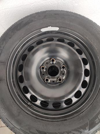 """Koła zimowe VW 215/60R16 felgi stalowe 16"""" 5x112 ET41 J6,5"""" 57,1mm"""