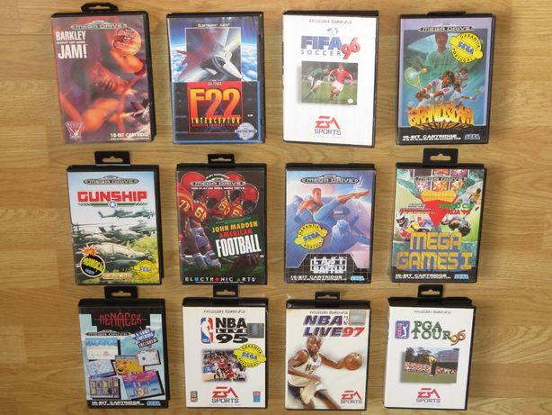 Mega Drive: Cabos, Comandos, Consolas e 28 jogos