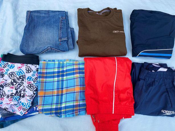 Одежда для мальчика рост 140 -152см своя Б/У Великобритания 8едн. ОПТ