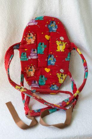 Переноска деток, рюкзак-кенгуру, слинг для малыша