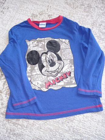 Disney Mickey bluzka długi rękaw chłopiec 104