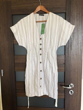 Sukienka Reserved bawełna organiczna S 36 nowa