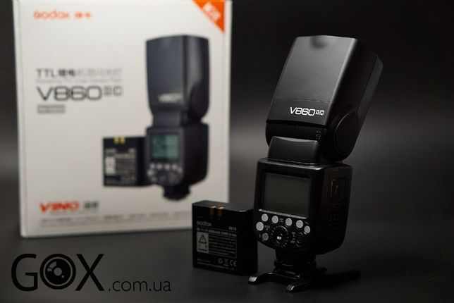 Вспышка Godox V860II-С V860IIN V860IIS для Canon Nikon Sony