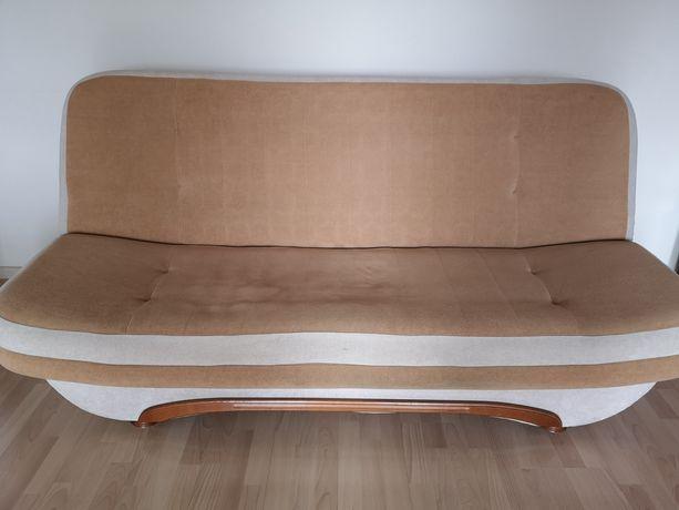 Wersalka kanapa rozkładana pojemnik na pościel
