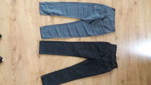 spodnie ciążowe H&M 2 pary + 1 gratis