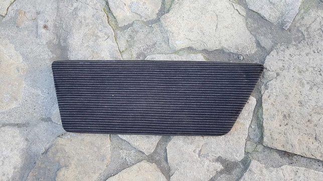 Mercedes 126 sec tapicerka tylnego boczku prawa lewa welur czarny