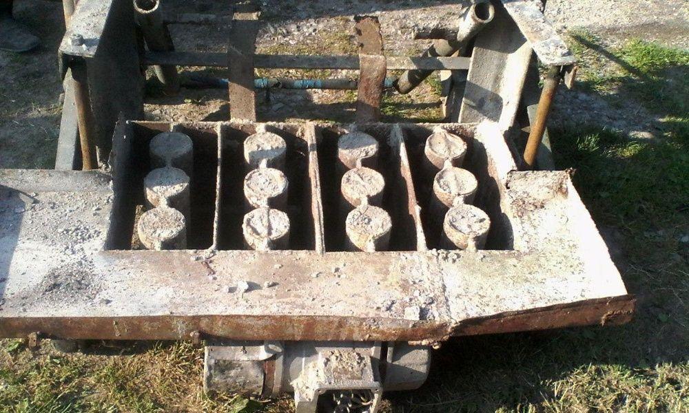 Станок для виготовлення шлакоблокiв Почаев - изображение 1