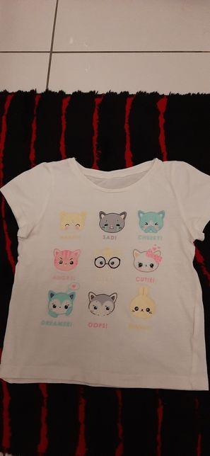 Koszulki krótki rękaw rozmiar 98-104