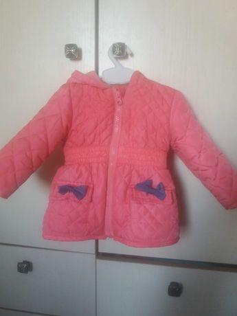 Дитяча курточка PEPCO для дівчинки 74см + подарунок шапка