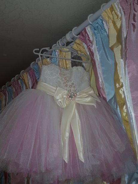 Вечернее (бальное) платье на 1 годик