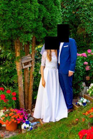 Suknia ślubna - rozmiar 34