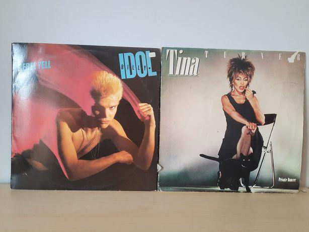 Vinis Billy Idol / Tina Turner – Rebel Yell / Private Dancer