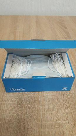 Одноразовая Защитная Лицевая маска, Упаковка 50 ШТ - ОПТ от 4 упаковок