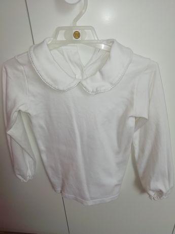 Biała bluzeczka rozm. 116