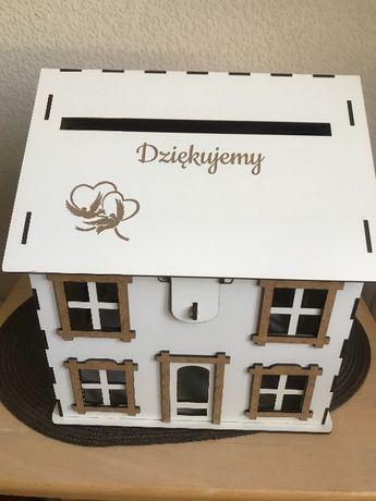 Domek pudełko skarbonka