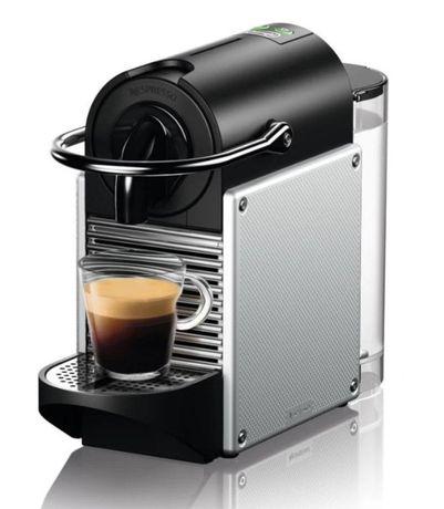 Nespresso - Máquina café Pixie Aluminium