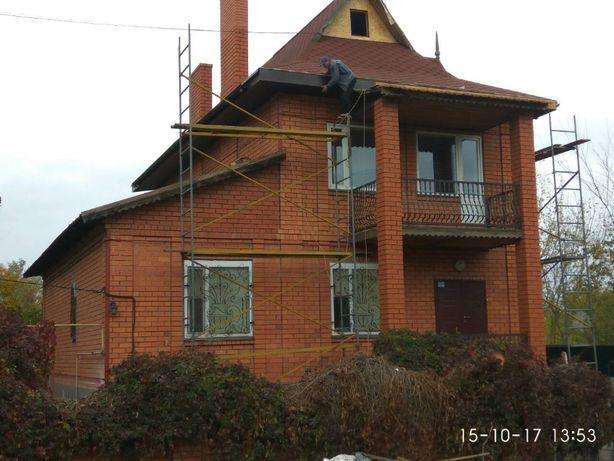 Стяжка домов, ремонт трещин домов