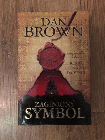 "Książka ""Zaginiony symbol"" Dan Brown"