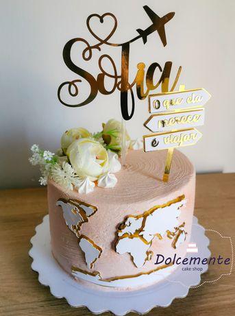 Bolos de aniversário ou outras ocasiões decorados
