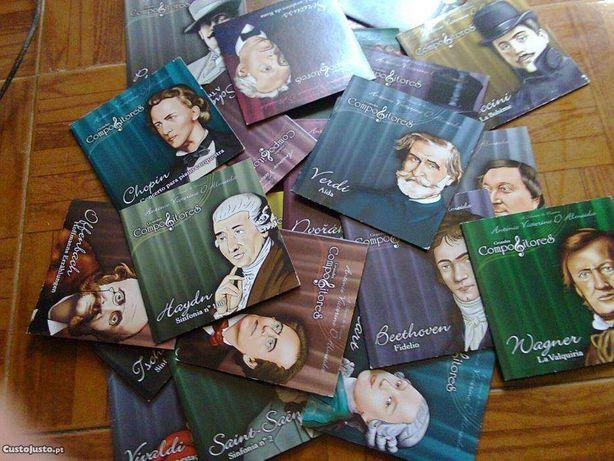 Coletânea de CD´s de Música clássica
