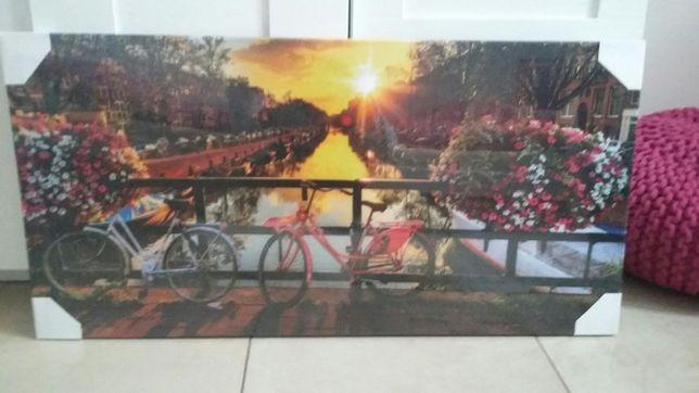 Obraz rower 40×80 NOWY