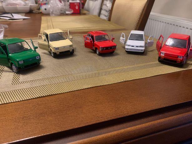 PRL Fiat 600 Mały Fiat Duży Fiat Polonez autka modele