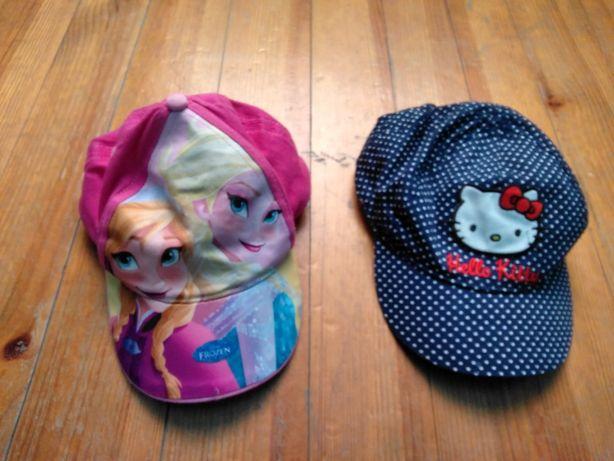 Czapka z daszkiem, kaszkiet Disney Elza i Anna H&M Hello Kitty 122-128