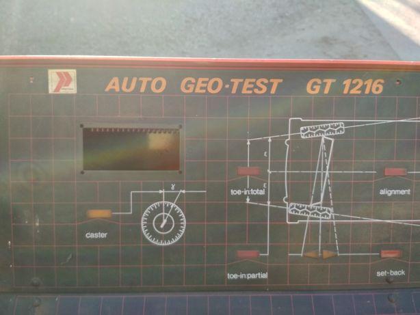Zbieżność Geometria Auto Geo-test GT1216 Precyzja
