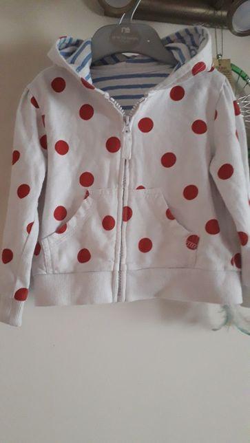 Bluza dla dziewczynki w kropeczki 86 Dunnes Stores