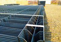 Panele ogrodzeniowe Zn+RAL Ø5,0mm, H-1330mm, oczko 50x200mm