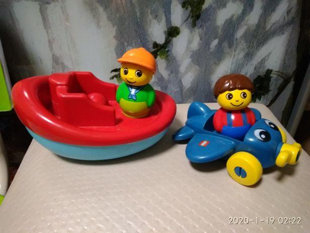 Лодка. Самолёт. LEGO