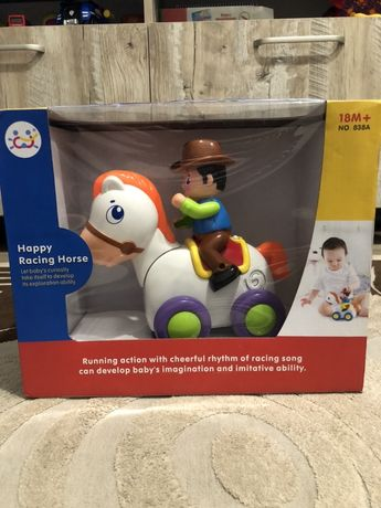 Развивающая игрушка «Ковбой и лошадка» Huile Toys