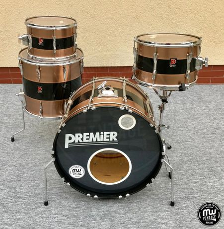 "Perkusja Premier Elite 22"", 12"", 13"", 16"" Vintage"