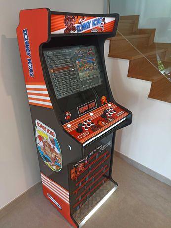 Máquina de Vídeo Árcade Nova - 2800 Jogos