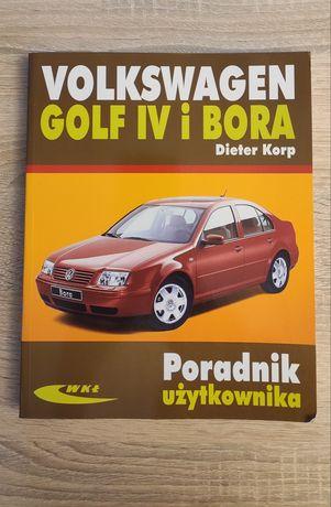 Książka VW Golf IV i Bora poradnik użytkownika